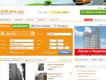 DOM.ria.ua - Нерухомість, продаж та оренда нерухомості