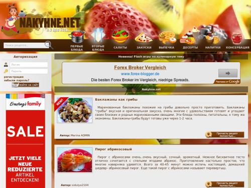 NAKYHNE.NET - Кулинарные Рецепты